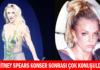 Britney Spears konser sonrasındaki görüntüsüyle çok konuşuldu