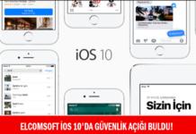 Elcomsoft iOS 10'da Güvenlik Açığı Buldu!